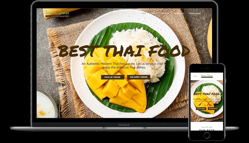 Thaiam Tampa Bay Web design