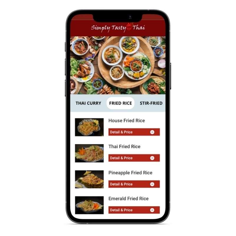 Restaurant QR code Menu